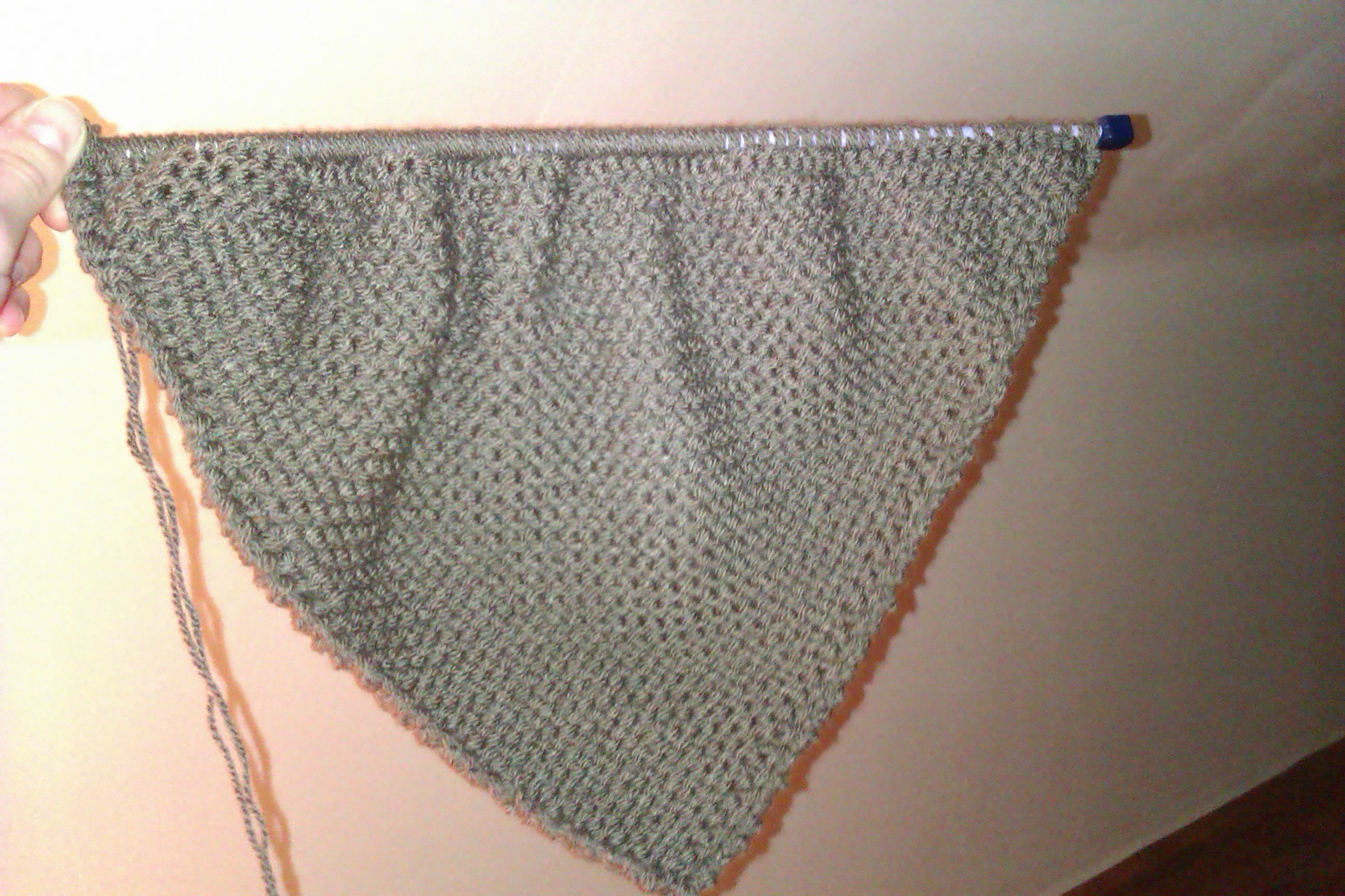 Le tricot une pelote des aiguilles et un peu de couture - Faire une augmentation en tricot ...